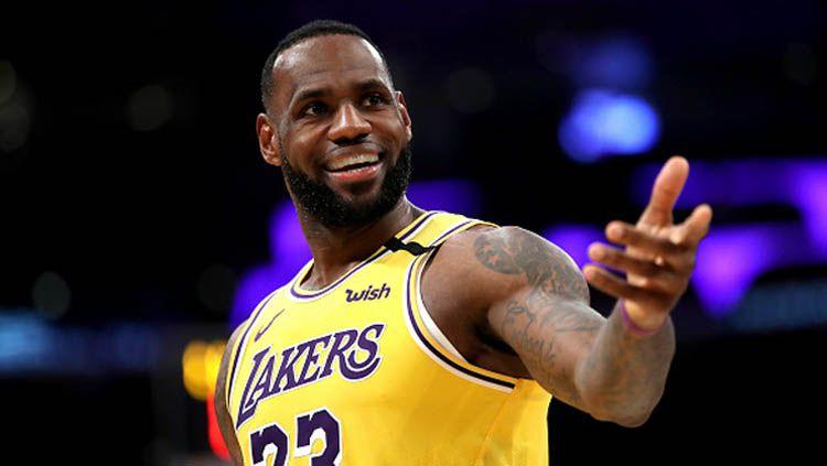 LeBron James Temukan Kenyamanan di Area Gelembung NBA