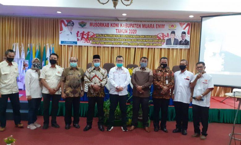 Terpilih Menjadi Ketua KONI Kabupaten Muara Enim, Muhammad Candra Ingin Majukan Prestasi Olahraga di Daerahnya