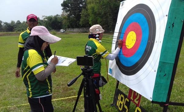 Atlet Lampung Ikuti Seleksi Nasional Panahan Olimpiade