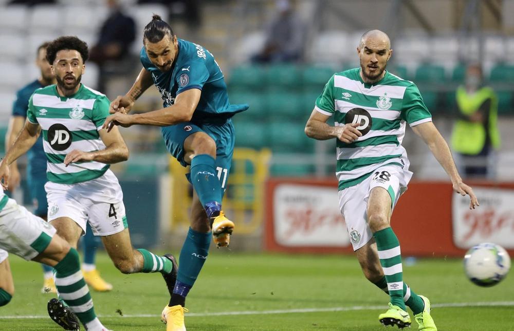 AC Milan Kalahkan Shamrock Rovers, 2-0 di Liga Europa
