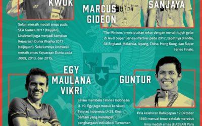 5 Atlet Terbaik Indonesia