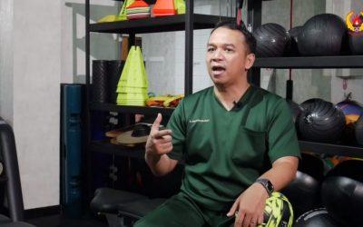 Dokter Andi Tegaskan Pertandingan Olahraga Bisa Digelar dengan Syarat