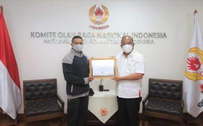 Ketua Umum KONI Pusat Berharap Semangat Jefry Menginspirasi Masyarakat Indonesia