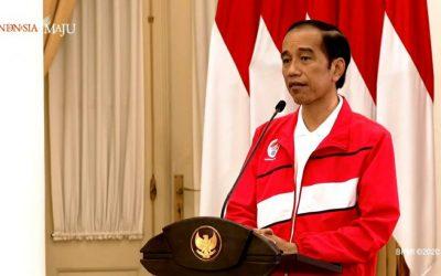 Haornas 2020: Jokowi Minta Kaji Ulang Ekosistem Keolahragaan