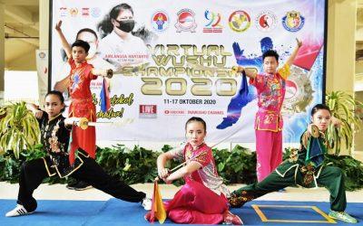 Rajawali Sakti Pluit Juara Kejuaraan Wushu tingkat Nasional