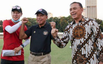 Ketum PSSI dan Menpora Beri Motivasi Pada Timnas U-19