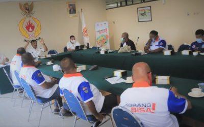 Berkunjung ke KONI Pusat, KONI Kabupaten Jayapura Sampaikan Tekad untuk Sukseskan PON XX