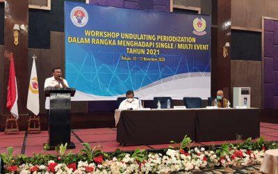 Kemenpora dan KONI Selenggarakan Workshop Penyusunan Periodesasi Undulating