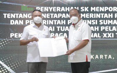 Aceh dan Sumut Sah menjadi Tuan Rumah PON XXI 2024