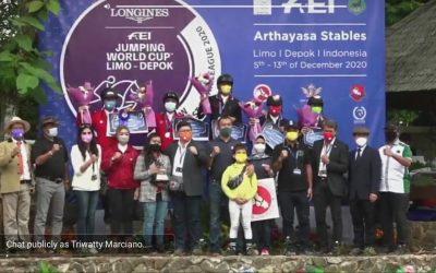FEI World Cup SEA League 2020 di Arthayasa Stables Selesai Digelar