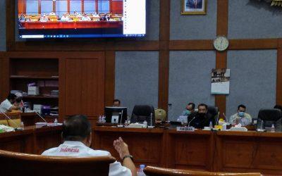 Ketum KONI Pusat Berikan DPR Masukan untuk Revisi UU SKN