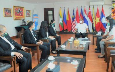 PP.Pordasi Dapatkan Pendampingan KONI Pusat Dalam Rangka Menggelar FEI JWC 2021