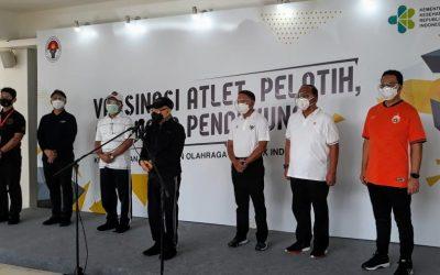 Wapres RI Berharap Atlet yang Divaksin akan Torehkan Prestasi Gemilang