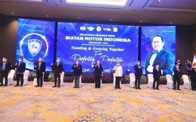 Ketum KONI Pusat Melantik dan Mengukuhkan H.Bambang Soesatyo S.E., M.B.A. sebagai Ketum IMI Masa Bakti 2021 – 2024