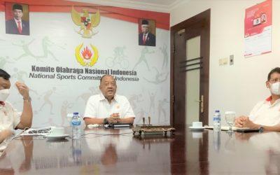 Ketum KONI Pusat Pimpin Rapat Koordinasi KONI Seluruh Indonesia dalam Rangka Sukseskan PON XX 2021 di Papua