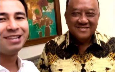 Ketum KONI Pusat Minta Raffi Ahmad Bantu KONI & PB.PON Sukseskan PON XX