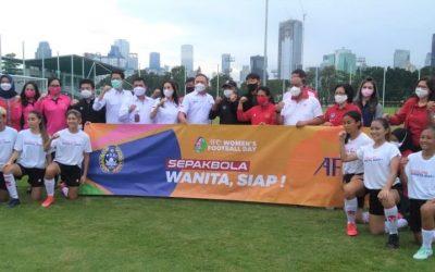 Ketum KONI Pusat Marciano Berharap Masa Depan Timnas Sepak Bola Putri Cerah