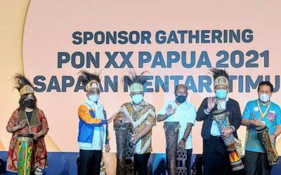Ketum KONI Pusat Buka Sponsor Gathering PON XX 2021 di Papua