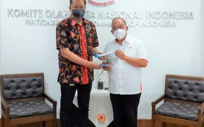 KONI Pusat segera Jadikan Garuda Indonesia Mitra Resmi