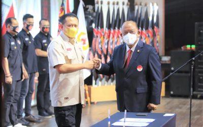 Ketum KONI Pusat Usulkan Liga Tarung Derajat Pasca Lantik Bamsoet sebagai Ketum PB.KODRAT