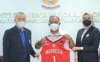 KONI Pusat Dukung FIBA Asia Sukses Penyelenggaraan dan Prestasi
