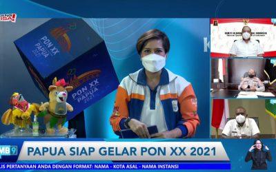 Ketum KONI Pusat, Kapolda Papua dan Bupati Merauke Tegaskan Papua Aman dan Siap untuk Penyelenggaraan PON XX