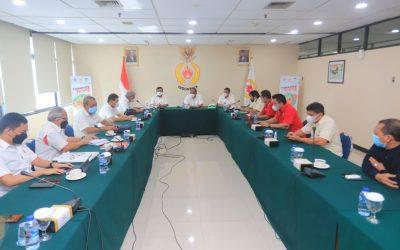 Rapat Koordinasi PON XXI Digelar di KONI Pusat Memutuskan Sekber