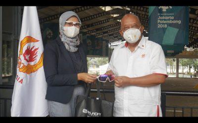 KONI Pusat Memberikan Apresiasi kepada Rudy Project yang Dukung Atlet Indonesia