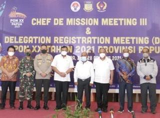 Panwasrah Dorong Terselenggaranya Bimtek dan Test Event untuk Membina SDM Papua dalam Penyelenggaraan Event Olahraga
