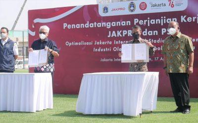 Diawali KONI Pusat, PSSI Bekerja Sama dengan Jakpro untuk Tingkatkan Pembinaan Olahraga Prestasi