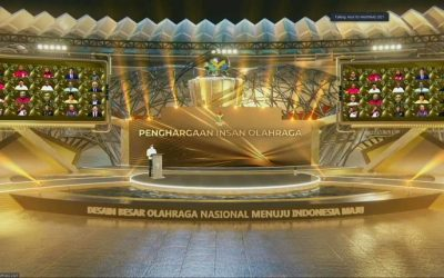 Haornas ke-38 Tahun 2021 usung Tema Desain Besar Olahraga Nasional Menuju Indonesia Maju
