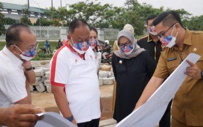 Kunjungan Ketum KONI Pusat dan Bupati Bogor Memotivasi Timnas Sepak Bola Putri